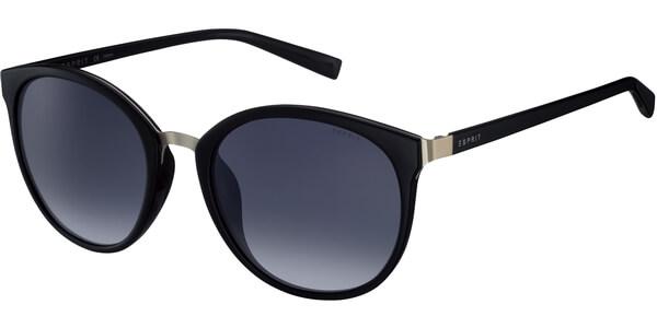 Sluneční brýle Esprit model 17943, barva obruby černá lesk, čočka šedá gradál, kód barevné varianty 538.
