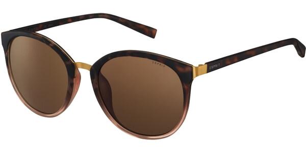 Sluneční brýle Esprit model 17943, barva obruby hnědá lesk, čočka hnědá, kód barevné varianty 545.