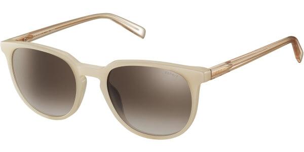 Sluneční brýle Esprit model Charmant, barva obruby béžová lesk bílá, čočka hnědá gradál, kód barevné varianty 565.