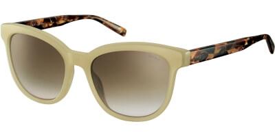 Sluneční brýle Esprit model 17955, barva obruby béžová lesk hnědá, čočka hnědá gradál, kód barevné varianty 565.