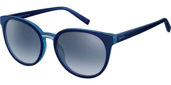 Sluneční brýle Esprit model 17960, barva obruby modrá lesk, čočka modrá gradál, kód barevné varianty 543.