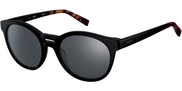 Sluneční brýle Esprit model 17963, barva obruby černá lesk červená, čočka šedá, kód barevné varianty 538.