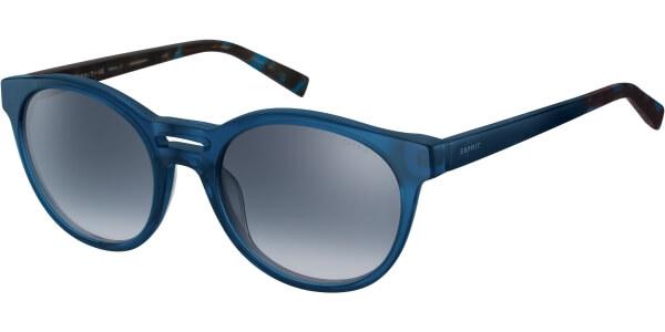 Sluneční brýle Esprit model 17963, barva obruby modrá lesk čirá, čočka modrá gradál, kód barevné varianty 543.