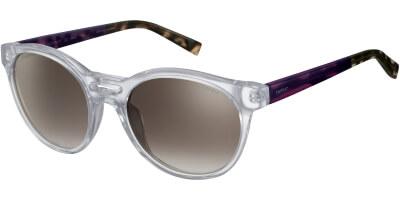 Sluneční brýle Esprit model 17963, barva obruby čirá lesk fialová, čočka hnědá gradál, kód barevné varianty 557.