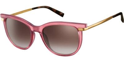 Sluneční brýle Esprit model 17969, barva obruby růžová lesk čirá, čočka hnědá gradál, kód barevné varianty 515.