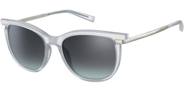 Sluneční brýle Esprit model 17969, barva obruby bílá lesk stříbrná, čočka šedá gradál, kód barevné varianty 536.