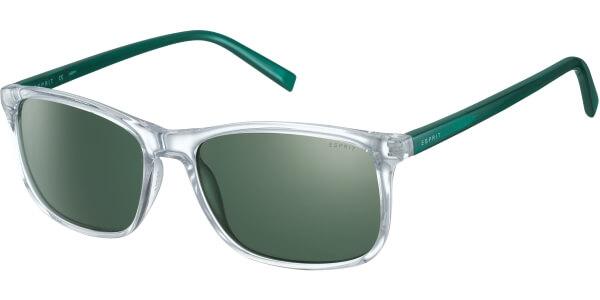 Sluneční brýle Esprit model 17972P, barva obruby čirá lesk zelená, čočka zelená polarizovaná, kód barevné varianty 557.