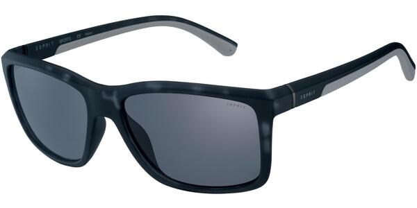 Sluneční brýle Esprit model 19607, barva obruby černá mat šedá, čočka černá, kód barevné varianty 505.