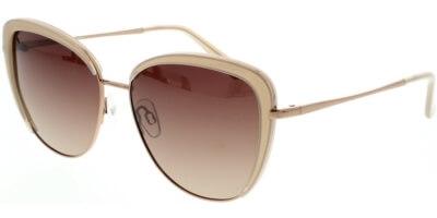 Sluneční brýle HIS model 04103, barva obruby béžová lesk zlatá, čočka hnědá gradál polarizovaná, kód barevné varianty 3.