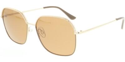 Sluneční brýle HIS model 04125, barva obruby zlatá lesk, čočka hnědá polarizovaná, kód barevné varianty 3.
