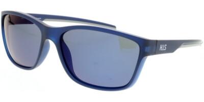 Sluneční brýle HIS model 07102, barva obruby modrá mat, čočka modrá zrcadlo polarizovaná, kód barevné varianty 2.
