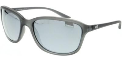 Sluneční brýle HIS model 07103, barva obruby šedá mat, čočka stříbrná zrcadlo polarizovaná, kód barevné varianty 2.