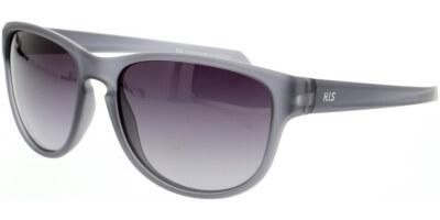 Sluneční brýle HIS model 07104, barva obruby šedá mat, čočka fialová gradál polarizovaná, kód barevné varianty 3.