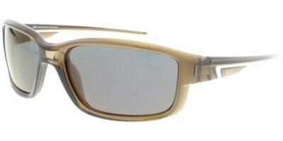 Sluneční brýle HIS model 07105, barva obruby hnědá lesk, čočka hnědá zrcadlo polarizovaná, kód barevné varianty 3.
