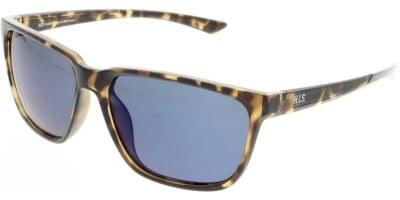 Sluneční brýle HIS model 07109, barva obruby hnědá lesk, čočka modrá zrcadlo polarizovaná, kód barevné varianty 2.