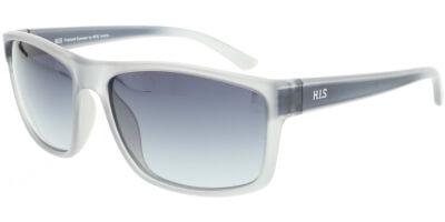 Sluneční brýle HIS model 07111, barva obruby šedá mat, čočka šedá gradál polarizovaná, kód barevné varianty 1.