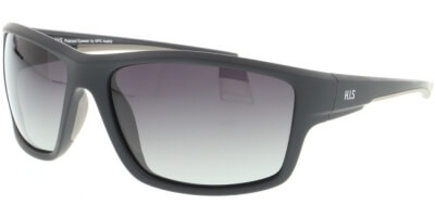 Sluneční brýle HIS model 07112, barva obruby černá mat, čočka hnědá gradál polarizovaná, kód barevné varianty 1.
