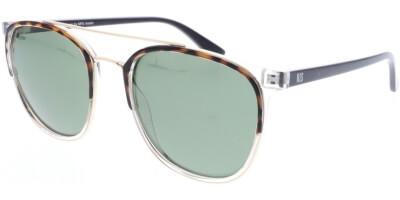 Sluneční brýle HIS model 08102, barva obruby hnědá lesk čirá, čočka hnědá gradál polarizovaná, kód barevné varianty 3.