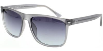 Sluneční brýle HIS model 08111, barva obruby šedá mat, čočka fialová gradál polarizovaná, kód barevné varianty 1.