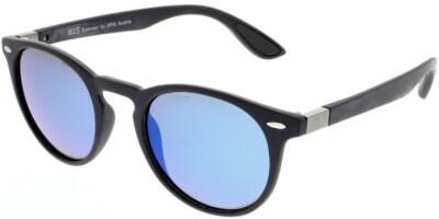 Sluneční brýle HIS model 08118, barva obruby modrá mat, čočka modrá zrcadlo polarizovaná, kód barevné varianty 2.