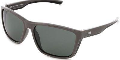 Sluneční brýle HIS model 27106, barva obruby šedá lesk, čočka zelená polarizovaná, kód barevné varianty 1.
