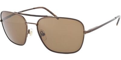 Sluneční brýle HIS model 44107, barva obruby hnědá lesk, čočka hnědá polarizovaná, kód barevné varianty 3.