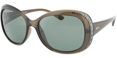 Sluneční brýle HIS model 48133, barva obruby hnědá lesk, čočka hnědá polarizovaná, kód barevné varianty 1.
