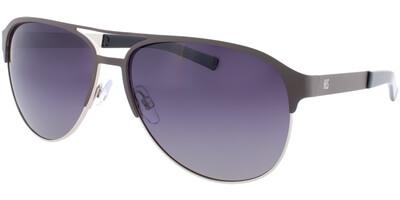 Sluneční brýle HIS model 74103, barva obruby šedá mat stříbrná, čočka šedá gradál polarizovaná, kód barevné varianty 3.