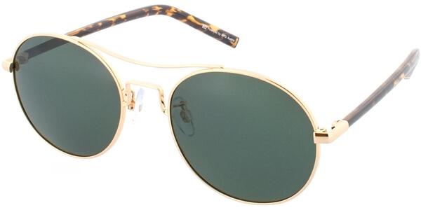 Sluneční brýle HIS model 74109, barva obruby zlatá lesk hnědá, čočka zelená polarizovaná, kód barevné varianty 1.