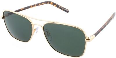 Sluneční brýle HIS model 74110, barva obruby zlatá lesk hnědá, čočka 0 polarizovaná, kód barevné varianty 1.