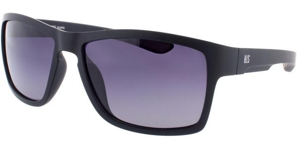 Sluneční brýle HIS model 77101, barva obruby černá mat, čočka šedá gradál polarizovaná, kód barevné varianty 1.