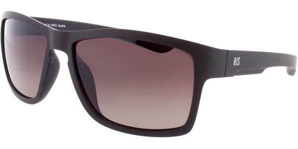 Sluneční brýle HIS model 77101, barva obruby hnědá mat, čočka hnědá gradál polarizovaná, kód barevné varianty 3.