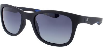 Sluneční brýle HIS model 77102, barva obruby modrá mat, čočka modrá gradál polarizovaná, kód barevné varianty 1.