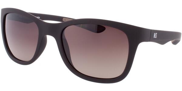 Sluneční brýle HIS model 77102, barva obruby hnědá mat, čočka hnědá gradál polarizovaná, kód barevné varianty 2.