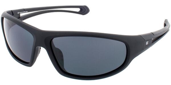 Sluneční brýle HIS model 77110, barva obruby černá mat, čočka šedá polarizovaná, kód barevné varianty 1.