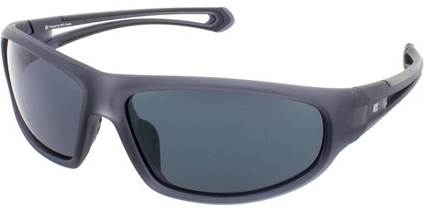 Sluneční brýle HIS model 77110, barva obruby šedá mat, čočka šedá polarizovaná, kód barevné varianty 3.