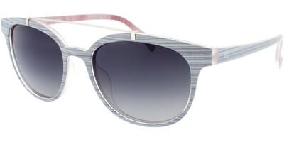 Sluneční brýle HIS model 78103, barva obruby šedá mat, čočka zelená gradál polarizovaná, kód barevné varianty 1.