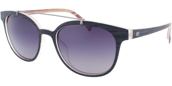 Sluneční brýle HIS model 78103, barva obruby šedá mat, čočka šedá gradál polarizovaná, kód barevné varianty 2.