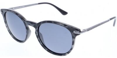 Sluneční brýle HIS model 78107, barva obruby černá lesk šedá, čočka šedá polarizovaná, kód barevné varianty 4.