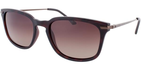 Sluneční brýle HIS model 78109, barva obruby hnědá mat, čočka hnědá gradál polarizovaná, kód barevné varianty 2.