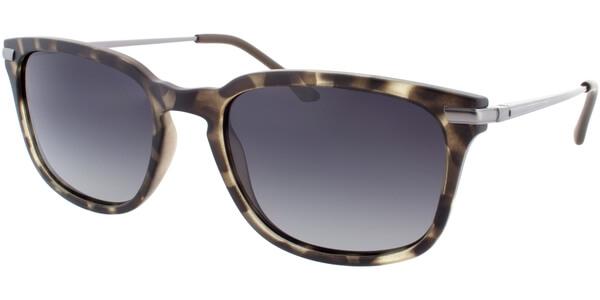 Sluneční brýle HIS model 78109, barva obruby hnědá mat zelená, čočka zelená gradál polarizovaná, kód barevné varianty 3.
