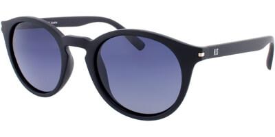 Sluneční brýle HIS model 78111, barva obruby černá mat, čočka šedá gradál polarizovaná, kód barevné varianty 2.