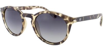 Sluneční brýle HIS model 78111, barva obruby hnědá mat zelená, čočka zelená gradál polarizovaná, kód barevné varianty 3.
