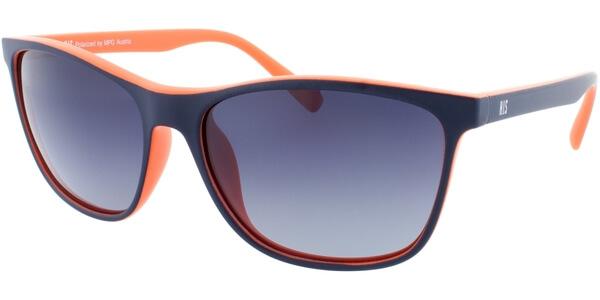 Sluneční brýle HIS model 78122, barva obruby modrá mat, čočka modrá gradál polarizovaná, kód barevné varianty 1.