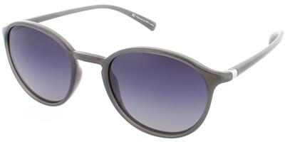 Sluneční brýle HIS model 78124, barva obruby šedá lesk, čočka fialová gradál polarizovaná, kód barevné varianty 2.