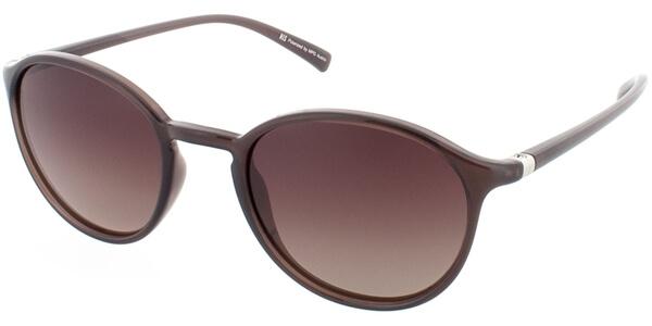 Sluneční brýle HIS model 78124, barva obruby hnědá lesk, čočka hnědá polarizovaná, kód barevné varianty 3.
