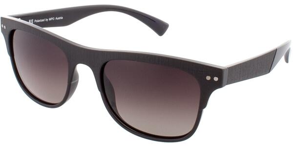 Sluneční brýle HIS model 78125, barva obruby hnědá mat, čočka hnědá gradál polarizovaná, kód barevné varianty 3.