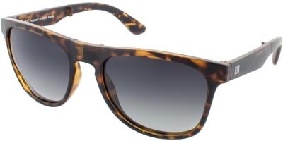 Sluneční brýle HIS model 78130, barva obruby hnědá mat, čočka fialová gradál polarizovaná, kód barevné varianty 2.