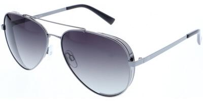 Sluneční brýle HIS model 84111, barva obruby šedá lesk, čočka šedá gradál polarizovaná, kód barevné varianty 3.