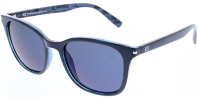 Sluneční brýle HIS model , barva obruby modrá lesk, čočka modrá zrcadlo polarizovaná, kód barevné varianty 2.